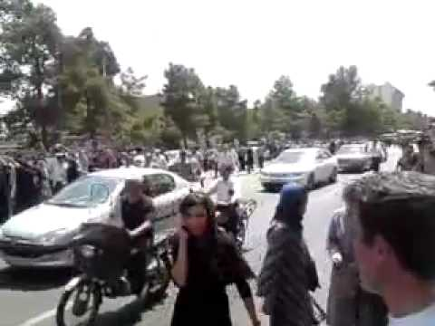 17 July 2009 Post friday prayer protests in Tehran