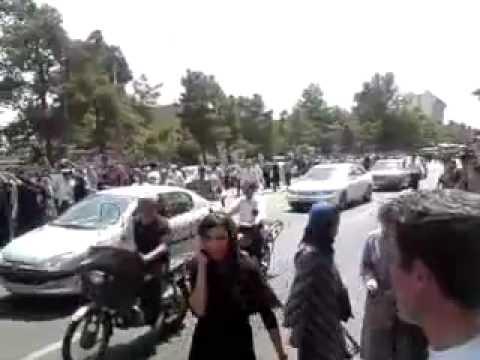 17 July 2009 Post friday prayer protests in Tehran