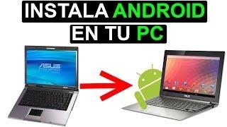 Android en PC : ¿Cómo instalar Android en tu PC o laptop? Tutorial #69 [HD]