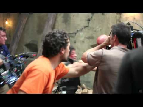 Behind the Scenes - Expendables [Fight with Sylvester Stallone]