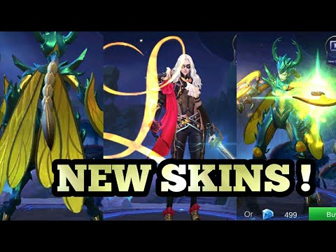 ADVANCED SERVER UPDATE | NEW HERO SKINS FOR LANCELOT AND KARRIE | MOBILE LEGENDS