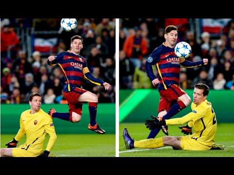 La vaselina de Lionel Messi, el mejor gol de Europa