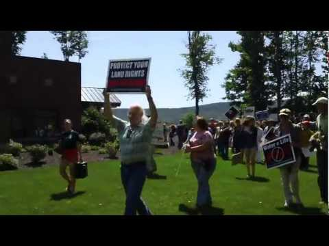 People's Action Against Fracking & Circling Talisman Energy USA - 6.26.2012