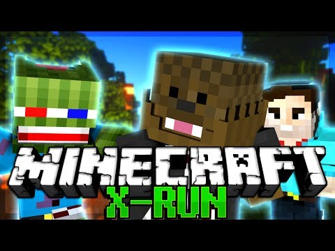 THE MOST FRUSTRATING GAME IN Minecraft X-Run PARKOUR MINIGAME w/ Bashur and Will