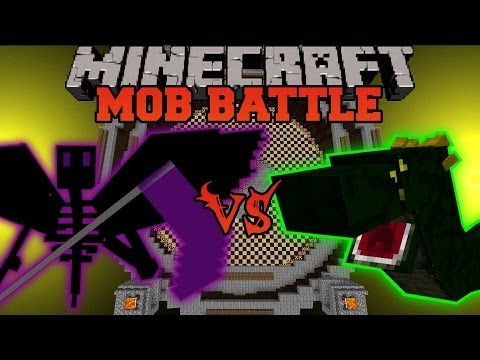 Ender Reaper Vs Basilisk - Minecraft Mob Battles - Orespawn Mod video