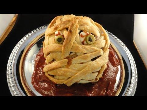 Halloween Mummy Meatloaf