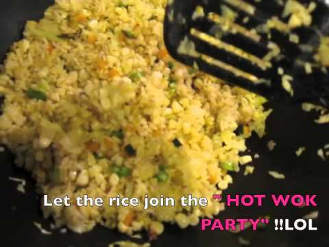 ★QQ「通腸抗老」黃金蛋炒飯★ Low Fat Anti-Aging Fried Rice