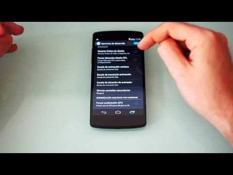 Mejorar rendimiento Nexus 5