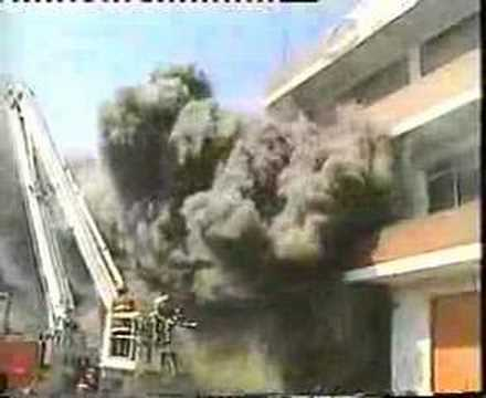 Backdraft over elevator