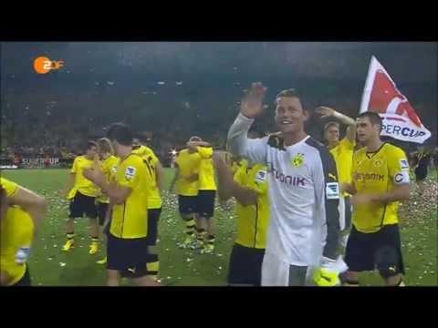 Supercup 2013: Borussia Dortmund 4:2 FC Bayern München | Alle Tore + Siegerehrung