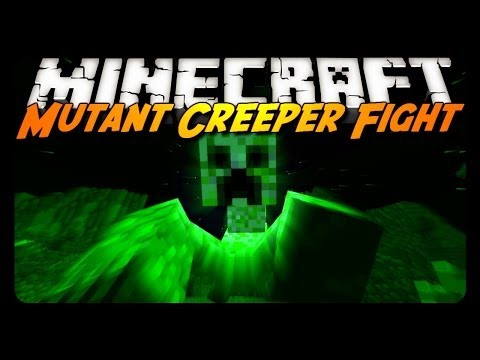Minecraft Mod Review: MUTANT CREEPER w/ NO BOW!