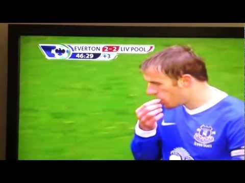 Phil Neville Worst Dive n David Moyes Epic FAIL Unfaithful - Everton vs Liverpool Luis Suarez