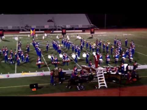 Neshaminy High School Marching Band Performing At 10/12/13 Council Rock Invitational
