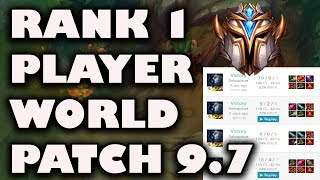 Rank 1 Player World Makes Enemy FF15 Almost Every Game | Rank 1 Player Breakdown Patch 9.7