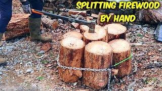 Why I Split Firewood by Hand!