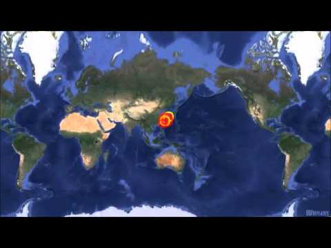 M 6.5 EARTHQUAKE - RYUKYU ISLANDS, JAPAN March 2, 2014