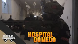 Airsoft #20 - Hospital do Medo l Ares Amoeba 013