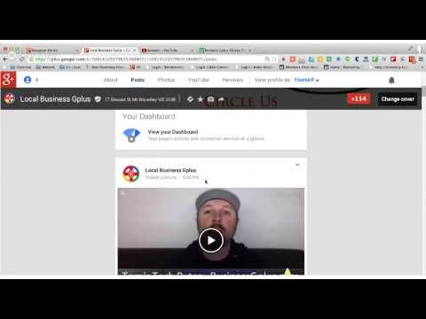 Google Plus for Business - How To Comment on a Post in Google+ by Local Business Gplus
