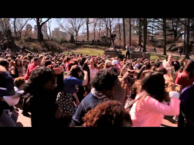 Anthony & Michelle's Marriage Proposal Flash Mob - NYC