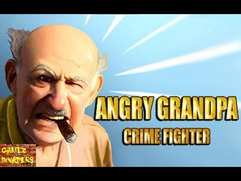 Angry Grandpa Crime Fighter Mobile/Tablet/iphone/ipad Game First Look Playthrough