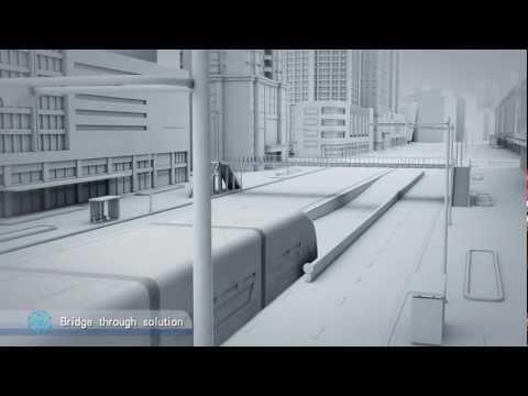 אוטובוס העתיד שהולכים ליישם בסין. פשוט מדהים