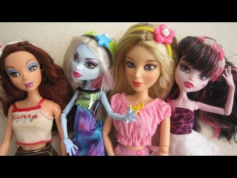 How to make doll headbands - Recycling - EP