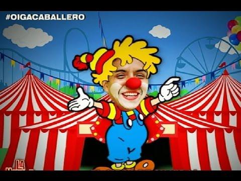 ¡Edwin Sierra se 'deschava' con nuevo circo en La Noche Es Mía!