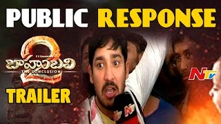 Download Bahubali2 Trailer : Public Response || Prabhas, Rajamouli, Rana || NTV 3Gp Mp4