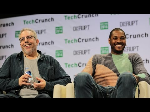 From NBA to ROI with Carmelo Anthony & Stuart Goldfarb (Melo7 Tech Partners) at TechCrunch Disrupt