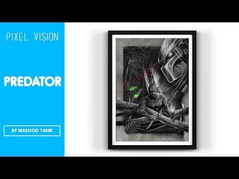 Predator (Time-lapse Painting)