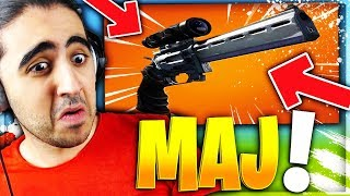 "🔴MAJ ! On Va Tester le ""REVOLVER a Lunette"" Sur FORTNITE Battle Royale !!!!"