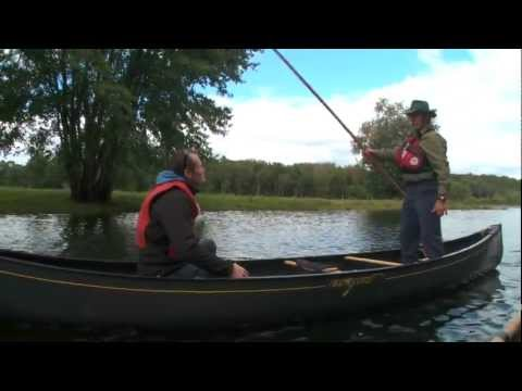 Fishing in the Miramichi, New Brunswick, Canada