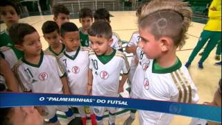 """""""Palmeirinhas"""": time sub-8 do futsal repete os bons resultado da equipe principal"""