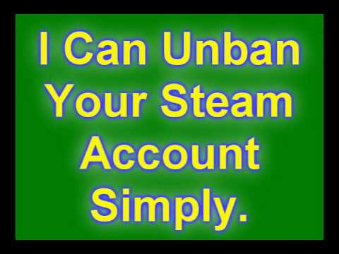 How To Get Unbanned Steam