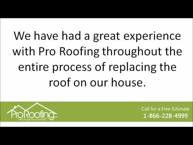 Bellevue Roofing Contractor | Customer Review | Pro Roofing NW