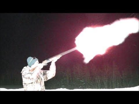 Shooting Black Powder 12 Gauge Shotgun Blanks