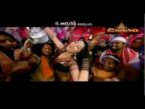 Damarukam Hd Video Songs - Sakku Bai Full Hd Item Song - Charmi Hot Chai With Nagarjuna video
