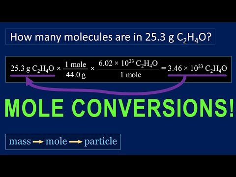 How To Solve Mole Problems In Chemistry