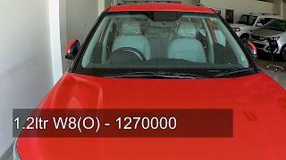 Mahindra Xuv300 All Variants On Road Price W8(O) ,W8,W6,W4 | With Price Break-up
