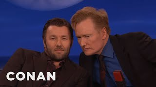 Joel Edgerton & Conan: Separated At Birth?  - CONAN on TBS
