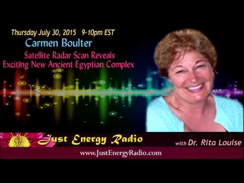 New Ancient Egyptian Complex Discovered – Carmen Boulter - Just Energy Radio