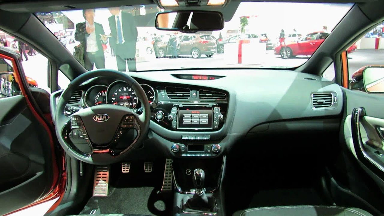 2013 kia pro ceed interior 2012 paris auto show youtube. Black Bedroom Furniture Sets. Home Design Ideas