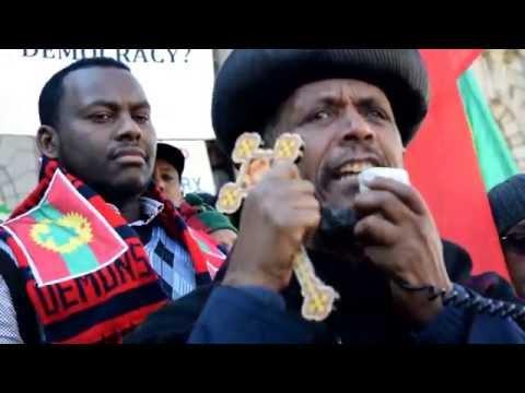 የተቃውሞ ሰልፍ  በሜልበርን - SBS Amharic