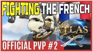 ATLAS Official PvP - fighting the french
