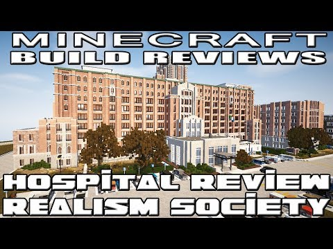 Minecraft : RealismSociety Reviews (Hospital Review with Yazur)