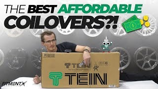 Are Affordable Coilovers Worth It? | Tein Flex Z Coilovers Unboxing