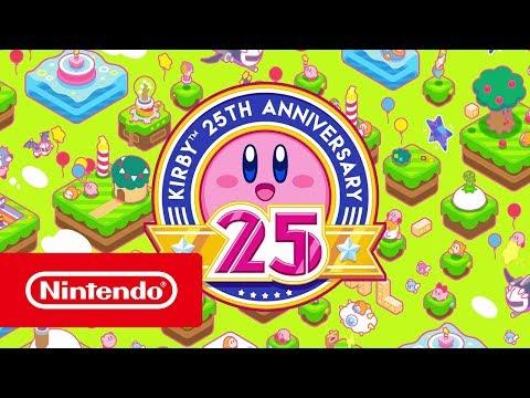 Kirby's 25-jarig jubileum - Trailer