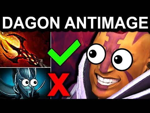 ANTI PHANTOM ASSASSIN DAGON ANTIMAGE - DOTA 2 PATCH 7.06 NEW META PRO GAMEPLAY