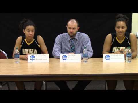 Birmingham Southern NCAA Post Game vs Lynchburg