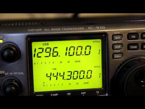 1296 MHz FAA Radar Sweeps!